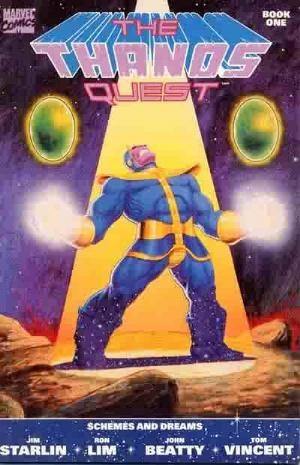 Comic Cover for Thanos Quest (#1)