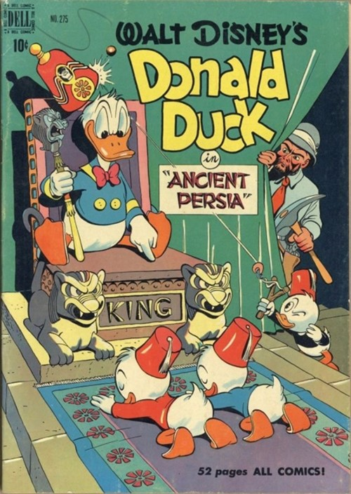 Comic Cover for Donald Duck (Four Color) (#275)