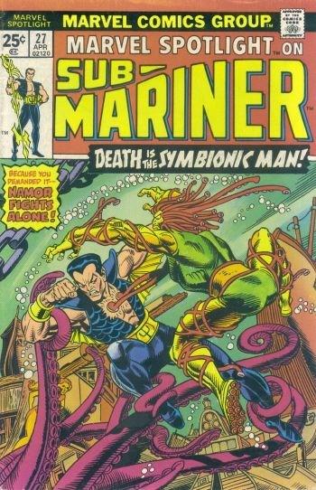 Comic Cover for Marvel Spotlight (#27)
