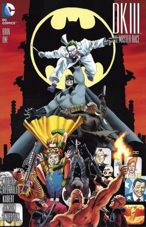(DC) Cover for Dark Knight Iii: The Master Race #1 Lone Star Comics Exclusive Variant Cover by John Cassaday