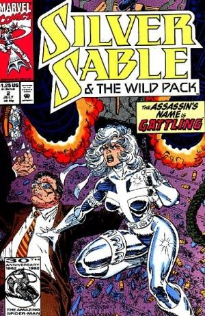 (Marvel) Cover for Silver Sable & The Wild Pack #2 Direct Edition