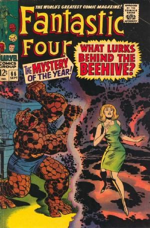 Comic Cover for Fantastic Four (#66)