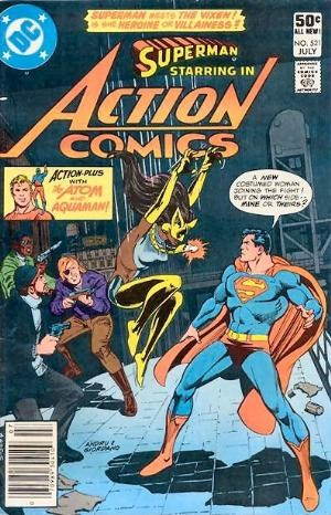 (DC) Cover for Action Comics #521 First Appearance of Mari Jiwe McCabe aka Vixen