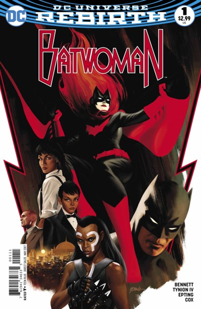 Comic Cover for Batwoman (#1)