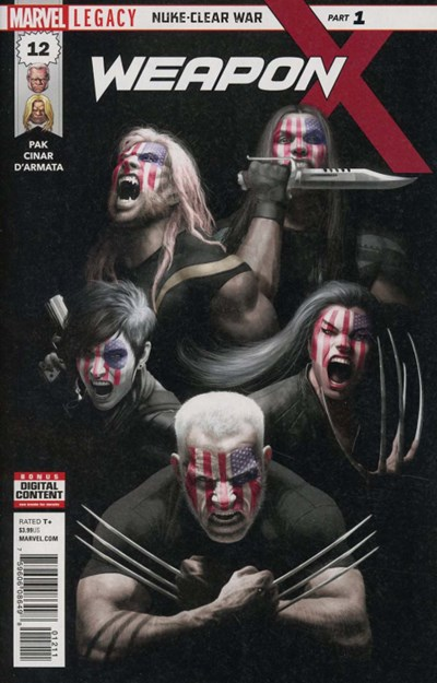 Comic Cover for Weapon X (#12)