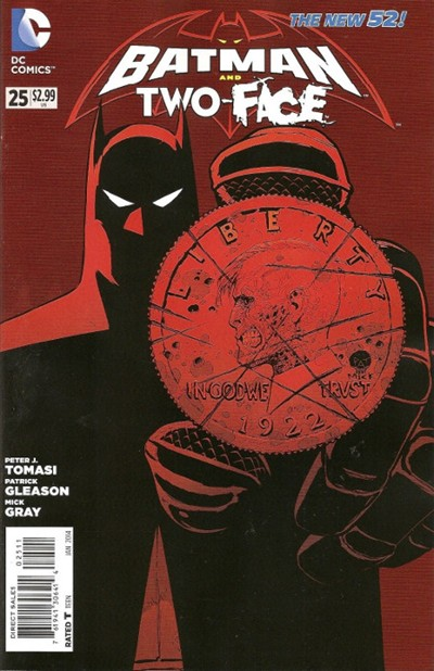 (DC) Cover for Batman And Robin #25 Batman and Two-Face