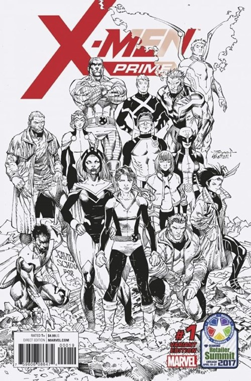 (Marvel) Cover for X-Men Prime #1 Retailer Summit Chicago 2017 Syaf