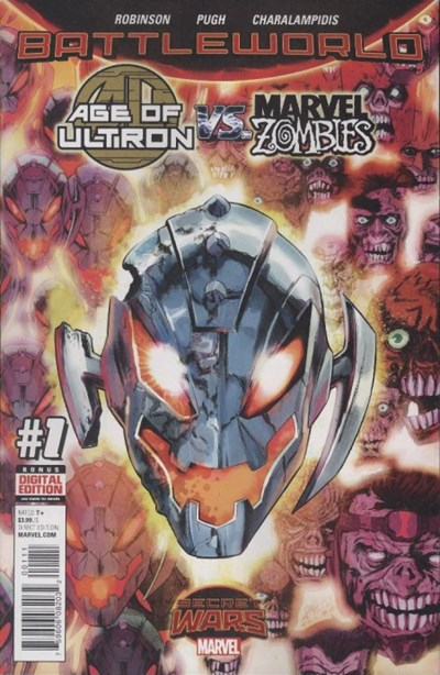 (Marvel) Cover for Age Of Ultron Vs. Marvel Zombies #1