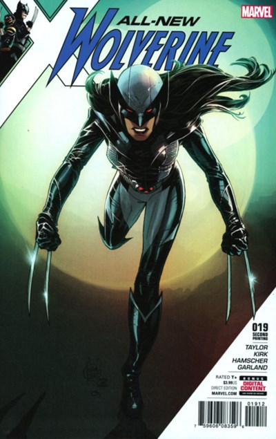 (Marvel) Cover for All-New Wolverine #19 Adam Kubert Second Printing Variant Cover