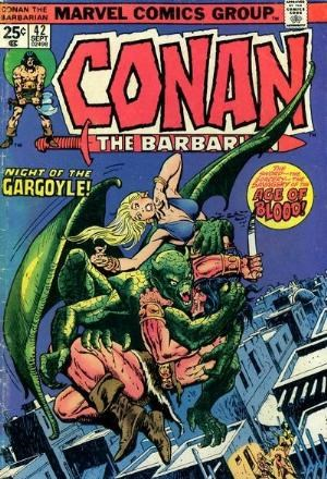 Comic Cover for Conan The Barbarian (#42)