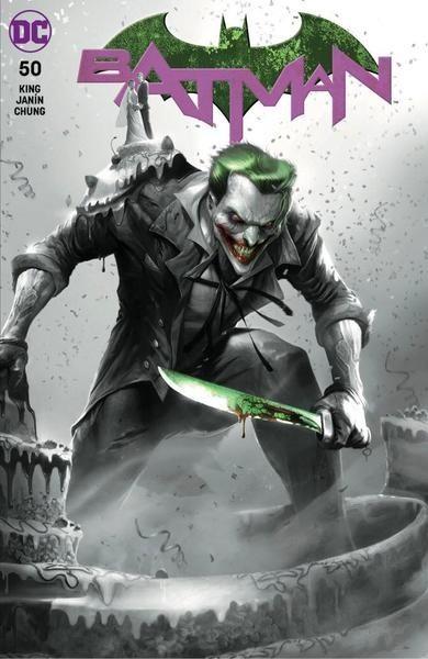 (DC) Cover for Batman #50 The Comic Mint (TCM) Exclusive Francesco Mattina B&W Variant