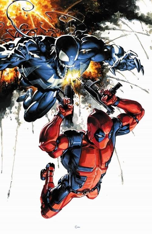 (Marvel) Cover for Venom #1 Clayton Crain Virgin Variant Limited to 1000