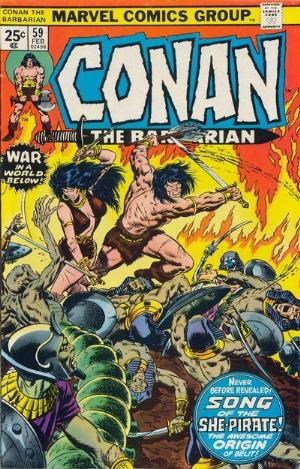 Comic Cover for Conan The Barbarian (#59)