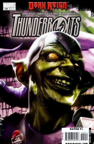 (Marvel) Cover for Thunderbolts #129