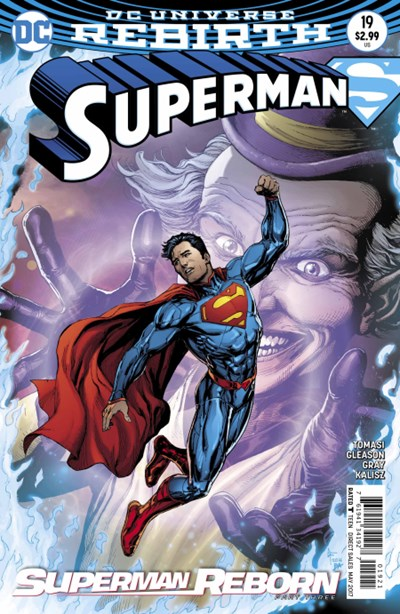 Comic Cover for SUPERMAN (#)