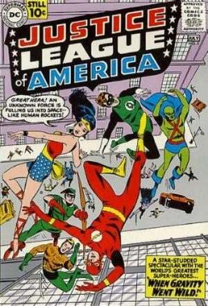 (DC) Cover for Justice League Of America #5 1st Appearance of Dr. Destiny