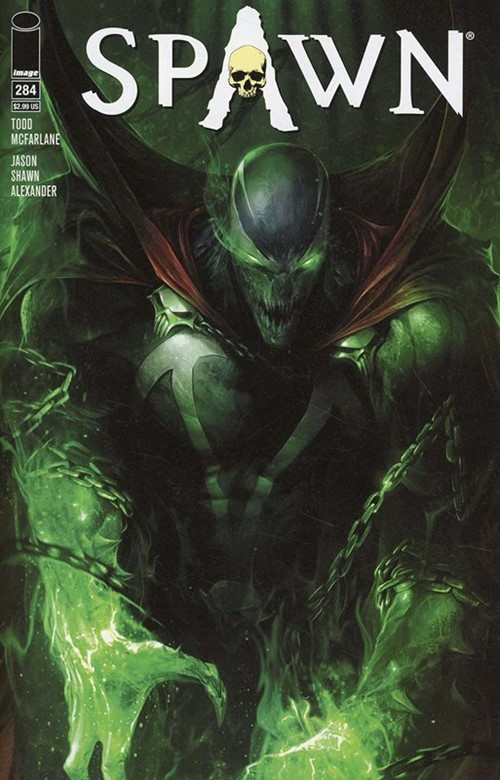 (Image) Cover for Spawn #284