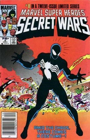 Comic Cover for Marvel Super-Heroes Secret Wars (#8)