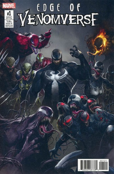 (Marvel) Cover for Edge Of Venomverse #1 Francesco Mattina Teaser Variant Cover. Limited 1 for 50.
