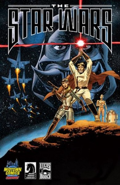 (Dark Horse) Cover for Star Wars, The (Lucas Draft) #1 Midtown Comics Exclusive Variant Cover
