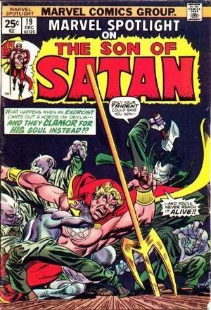 Comic Cover for Marvel Spotlight (#19)