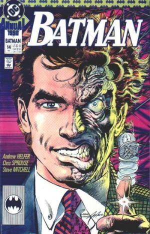 (DC) Cover for Batman #14 Origin of Two-Face