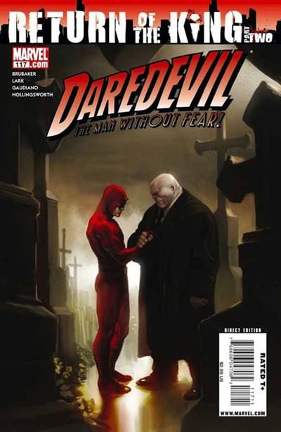 Comic Cover for Daredevil (#117)
