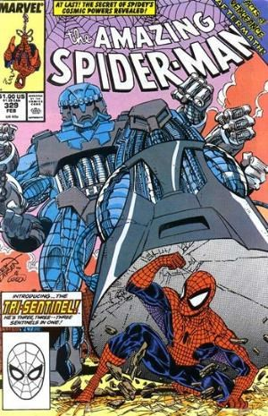 (Marvel) Cover for Amazing Spider-Man, The #329 Direct Edition