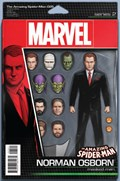 AMAZING SPIDER-MAN, THE #25A  Variant Cover John Tyler Christopher Action Figure Variant Cover