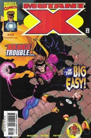 (Marvel) Cover for Mutant X #16