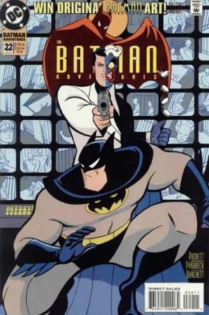 (DC) Cover for Batman Adventures #22