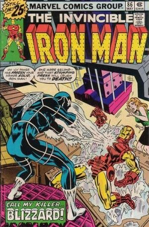 Comic Cover for Iron Man (#86)