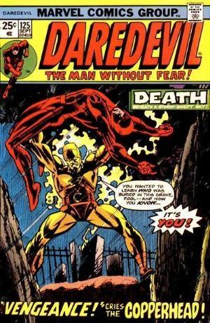 Comic Cover for Daredevil (#125)
