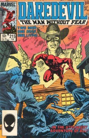 Comic Cover for Daredevil (#215)