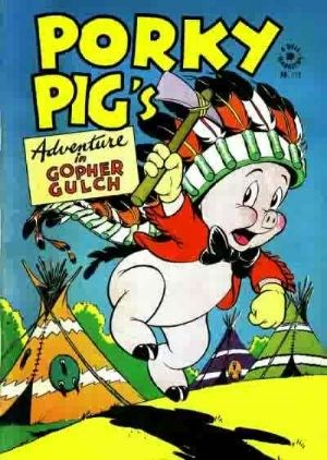 Comic Cover for Porky Pig (Four Color) (#112)