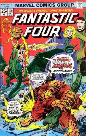 Comic Cover for Fantastic Four (#160)