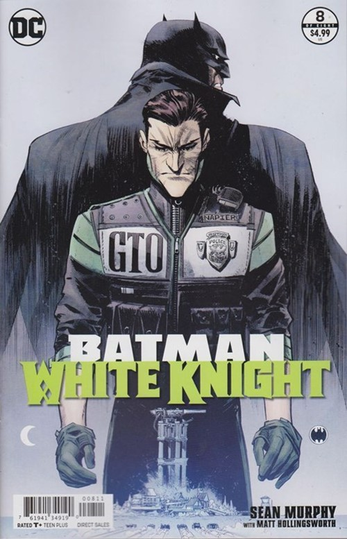 (DC) Cover for Batman: White Knight #8