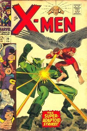 Comic Cover for Uncanny X-Men (#29)