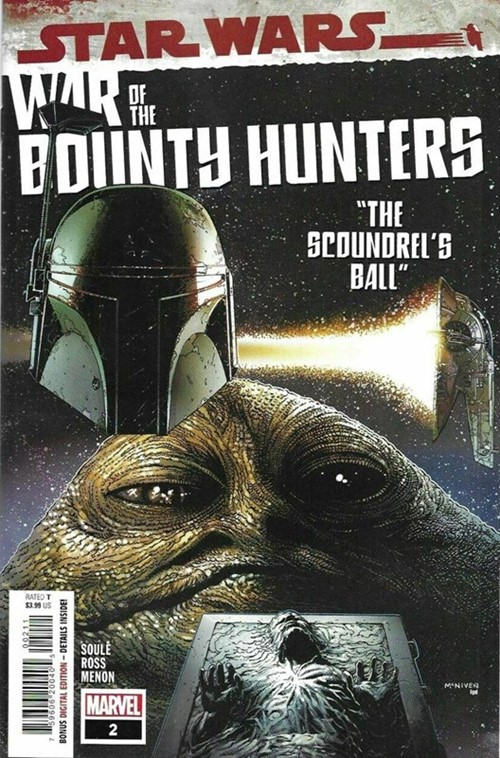 (Marvel) Cover for Star Wars: War Of The Bounty Hunters #2