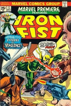 Comic Cover for Marvel Premiere (#17)