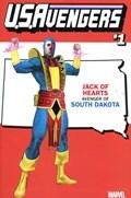 U.S.AVENGERS #1VV  Variant Cover Rod Reis South Dakota State Variant Cover