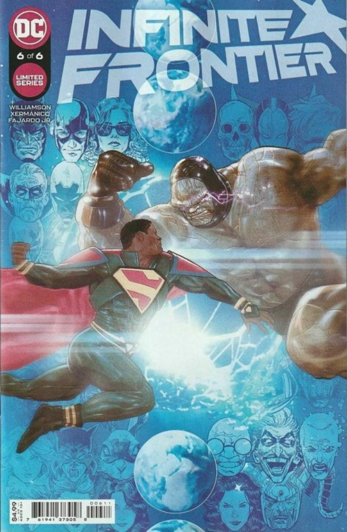 (DC) Cover for Infinite Frontier #6