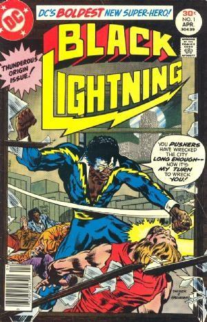 Comic Cover for Black Lightning (#1)