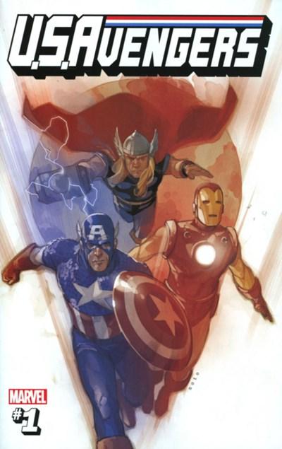(Marvel) Cover for U.S.Avengers #1 Phil Noto Secret Variant Cover