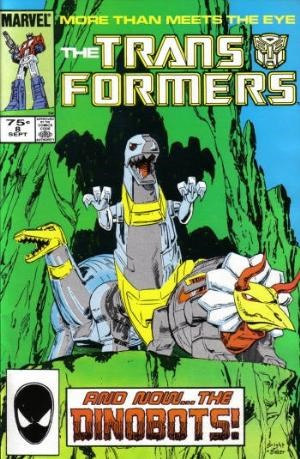 Comic Cover for Transformers (#8)