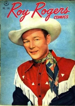 Comic Cover for Roy Rogers Comics (Four Color) (#166)