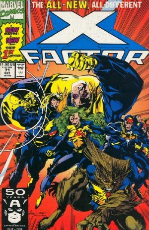 Comic Cover for X-FACTOR (#)