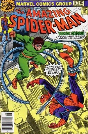 Comic Cover for Amazing Spider-Man (#157)