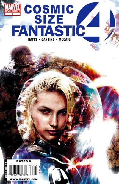 (Marvel) Cover for Fantastic Four Cosmic Special #1