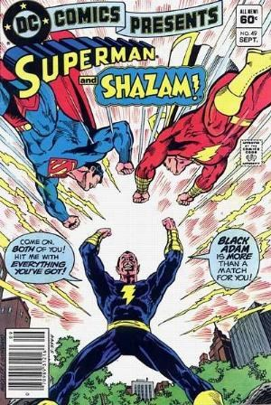 (DC) Cover for Dc Comics Presents #49 Early Appearance of Black Adam (1st is Shazam 28, 2nd is Limited Collector's Edition 58, 3rd is World's Finest 264)